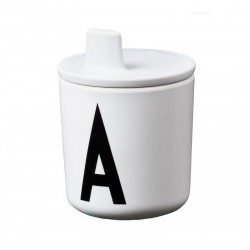 Design Letters Drikketud Hvid