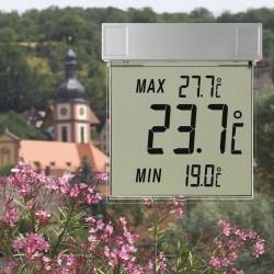 Digital udendørs termometer til vindue