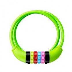 DING spirallås med kode - Grøn