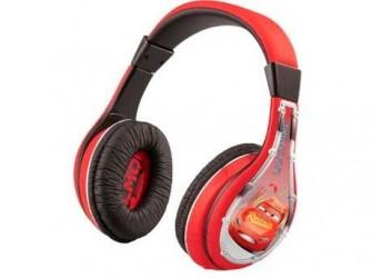 Disney Høretelefoner Cars - 3-10 år - Støjdæmpning - Justerbare