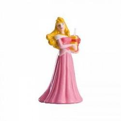 Disney prinsesse kagelys - 8,5 cm (1 stk.)
