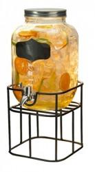 Dorre Drikkedispenser i stativ med aftapningskran 4 liter