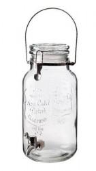 Dorre Drikkedispenser med låg håndtag og kran, rummer 4 liter