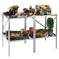 Drivhusbord i aluminium - 2 sektioner