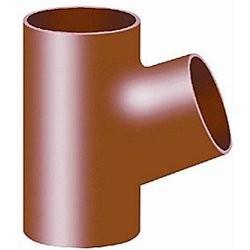Düker SML Grenrør 70° DN70, 70 mm - rød