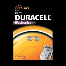 Duracell batteri til ure 357/303 - 2 stk