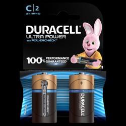 Duracell batteri Ultra Power C (2 stk)
