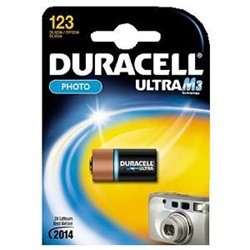 Duracell DL123A / CR-123A