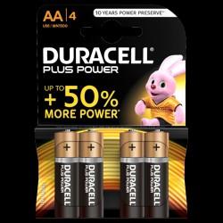 Duracell Plus Power AA-batterier (4 stk.)