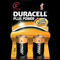 Duracell Plus Power C-batteri (2 stk.)