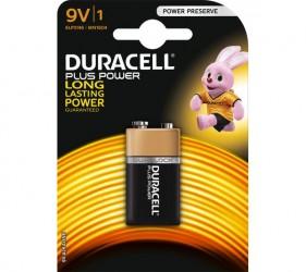 Duracell - Power Plus Batteri - 9V