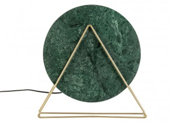 Dutchbone - Louis Bordlampe - Grøn marmor