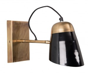 Dutchbone - Old School Væglampe - Sort