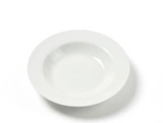 Dyb tallerken Ø21,5 Emma hvid