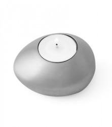 Edblad Piedra lyseholder 4-sæt - Lille, matt aluminium