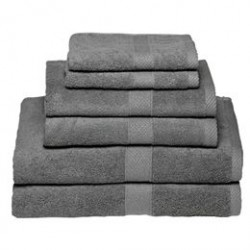 Egeria håndklæder - Diamant, grå