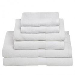Egeria håndklæder - Diamant, hvid