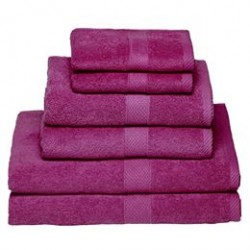 Egeria håndklæder - Diamant, lilla