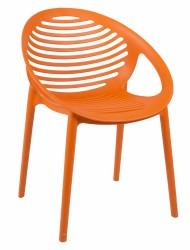 Elements Spisebordsstol - Orange PP