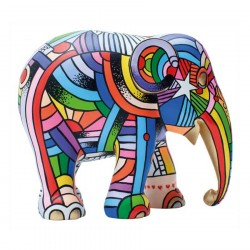 Elephant Parade - Peace, Love and Music- 15 cm
