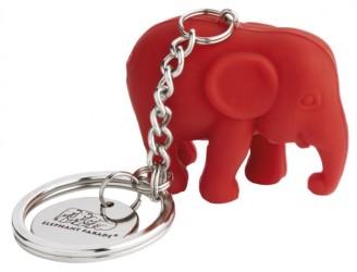 Elephant Parade - Stående rød, silicone - 3,5 cm