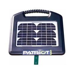 Elhegn med solceller & 12V batteri - Patriot PS15 (0,15J)
