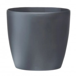 Elho - Urtepotteskjuler Brussels Round Ø9,5-Ø30 cm - Antracit - Ø18 cm