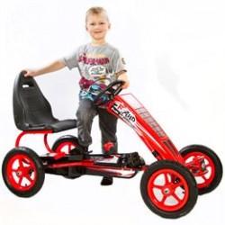 Elitetoys gokart med pedaler - Hurricane F8