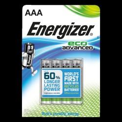 Energizer AAA/LR6 Eco advanced batterier 4-pak