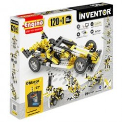 Engino 120-i-1 byggesæt med motor - Inventor