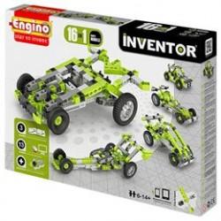 Engino 16-i-1 byggesæt - Inventor - Biler