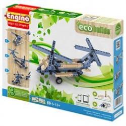 Engino 3-i-1 byggesæt - eco - Helikoptere