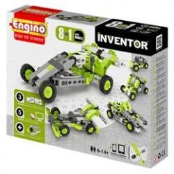 Engino 8-i-1 byggesæt - Inventor - Biler