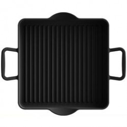 enkel grillpande - Designet af Ole Palsby - L 24 x B 24 cm