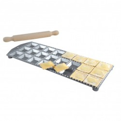 Eppicotispai Ravioliform Aluminium 24 stk firkantede huller