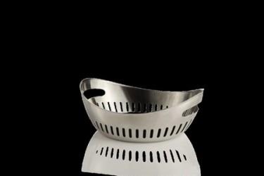 Erik Bagger Chill skål oval 21 cm stål