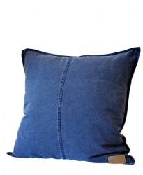 Ernst Kirchsteiger Pudebetræk m knappar, 50x50 cm, blå