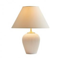 Eslau bordlampe - Hvid