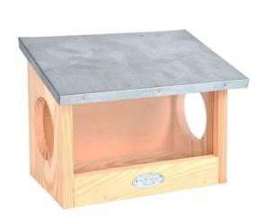 Esschert Design - Egern foderhus med 2 huller