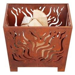 Esschert Design Fire Basket Square Rust S FF161