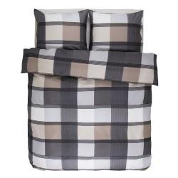 Essenza sengetøj - Mac Laran - Grå/beige