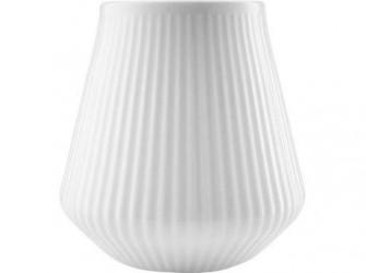 Eva Trio Legio Nova Vase - H 15,5 cm - Porcelæn - Hvid