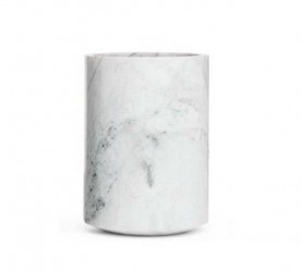 Excel My Belle Vase Marmor Hvid Lille
