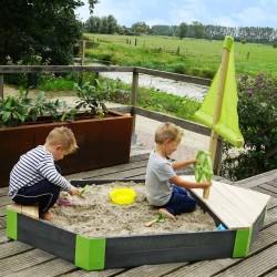 Exit Toys sandkasse - Aksent båd - FSC-certificeret træ