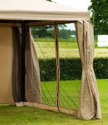Extra Myggenet til Luxus Pavillon 3x3 m - Beige
