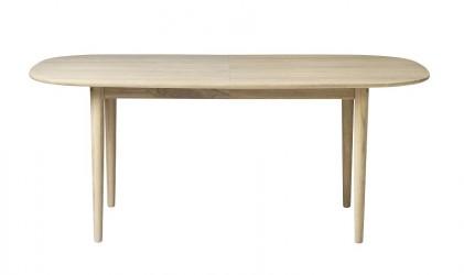 FDB Møbler - Bjørk Spisebord 180x75 - Natur