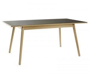 FDB Møbler - C35B Spisebord 160x82 - Sort/Natur