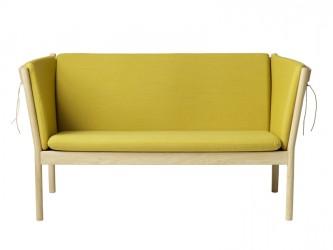 FDB Møbler - J148 2-pers. Sofa - Okkergul