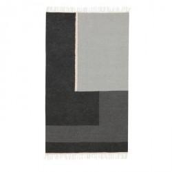 Ferm Living - Gulvtæppe - Kelim rug, Section - Small