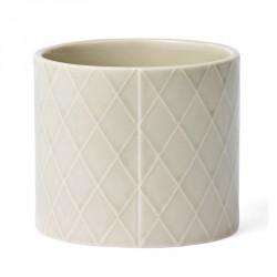 Finnsdottir Pipanella Flower Pot Diamond Medium Grey